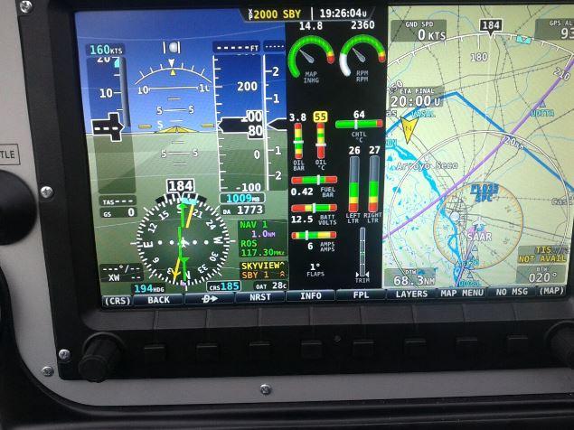 Tecnam 2002 en vuelo