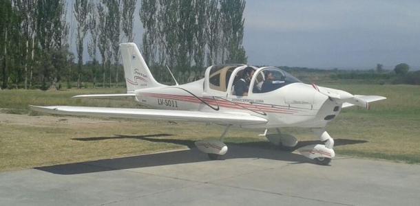 Llegada de un nuevo TECNAM para la flota de aviones